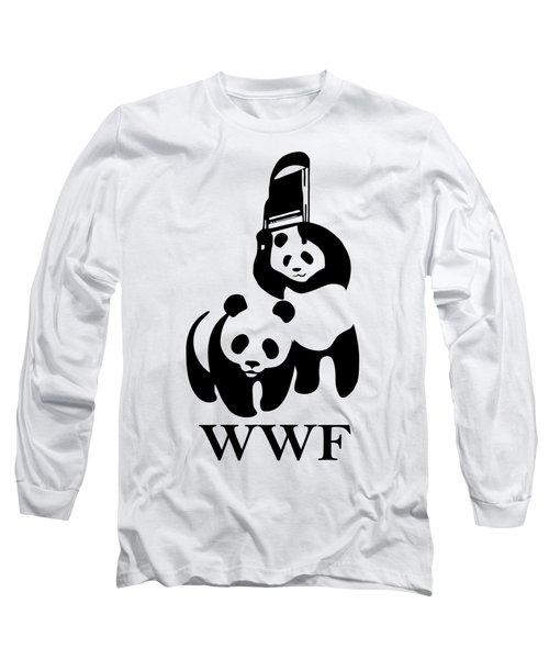 Wwf Parody Long Sleeve T-Shirt