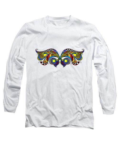 Chrysalis Long Sleeve T-Shirt by Dar Freeland