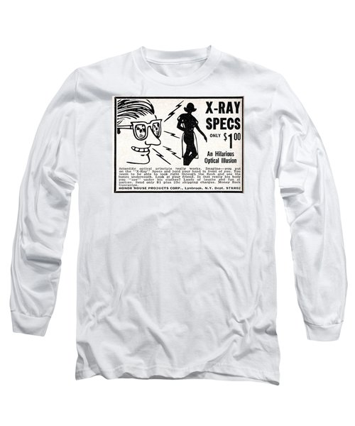 X-ray Specs $1.00 Long Sleeve T-Shirt