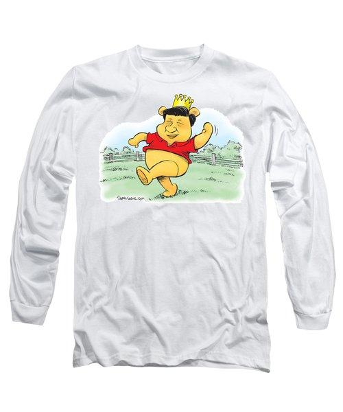 Xi The Pooh Long Sleeve T-Shirt