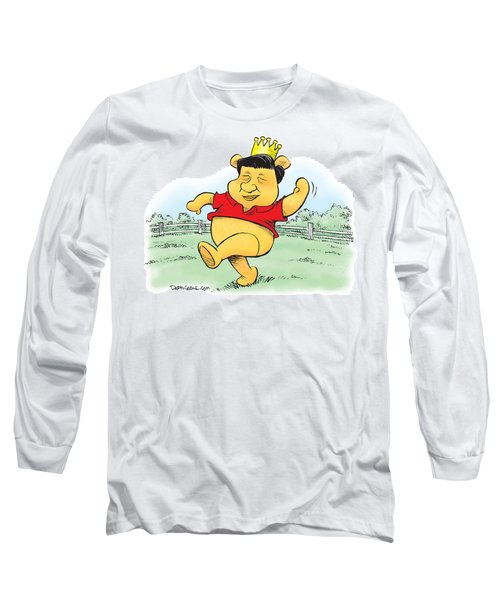 Xi The Pooh Long Sleeve T-Shirt