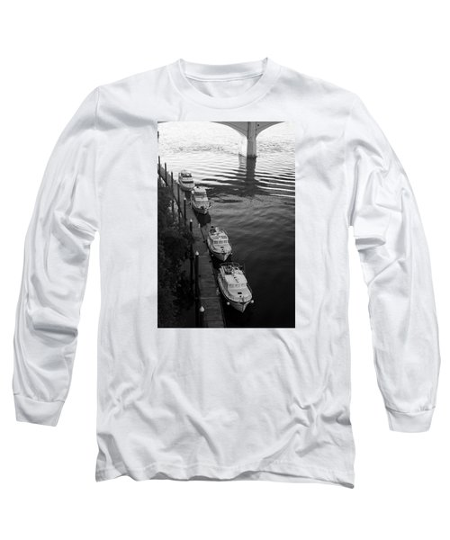 Yachts At Dock Long Sleeve T-Shirt