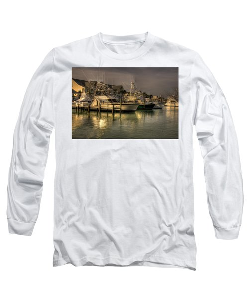 Yachts In Hdr Long Sleeve T-Shirt