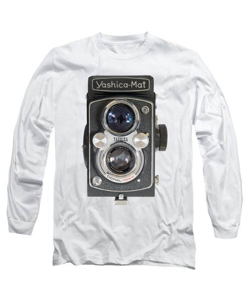 Yashica Mat Twin Lens Reflex Long Sleeve T-Shirt