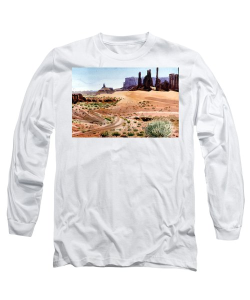 Yei Bi Chei And Totem Poles Long Sleeve T-Shirt