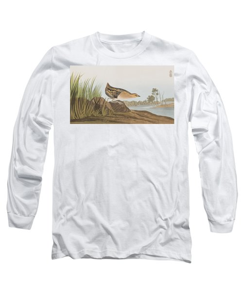 Yellow-breasted Rail Long Sleeve T-Shirt