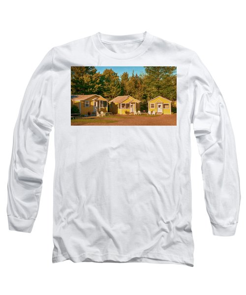 Yellow Cabins Long Sleeve T-Shirt