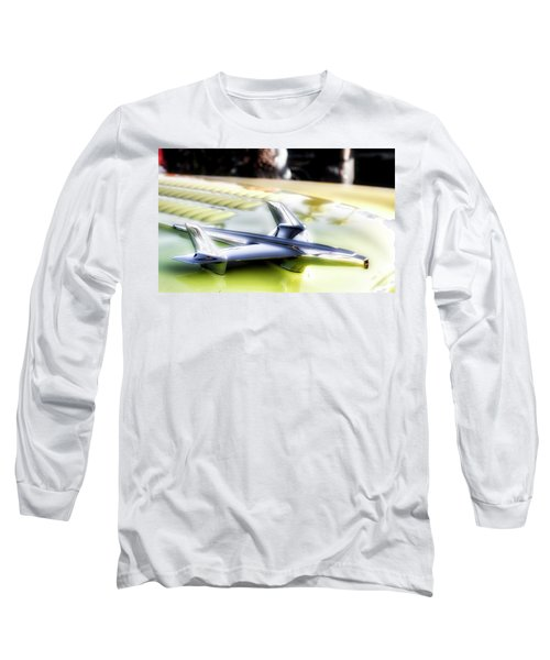Yellow Chevy  Long Sleeve T-Shirt by Mark David Gerson