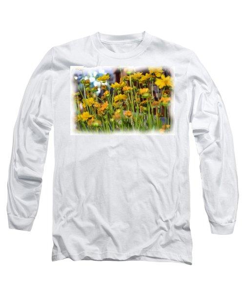 Yellow Fields Long Sleeve T-Shirt