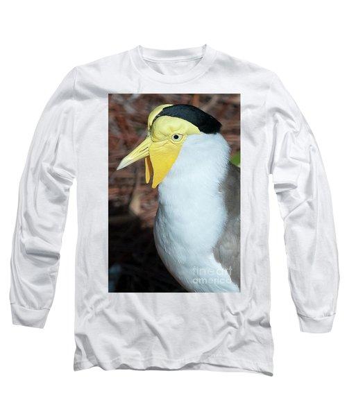 Yellow Headed Bird Long Sleeve T-Shirt
