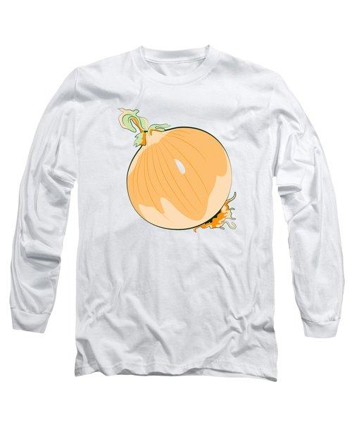 Yellow Onion Long Sleeve T-Shirt