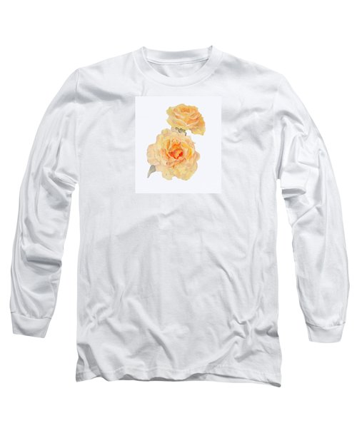 Yellow Roses Long Sleeve T-Shirt by Beatrice Cloake