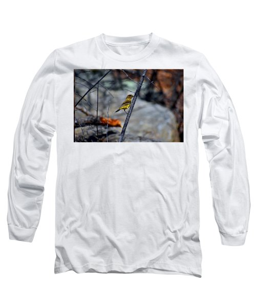 Yellow Warbler 2 Long Sleeve T-Shirt
