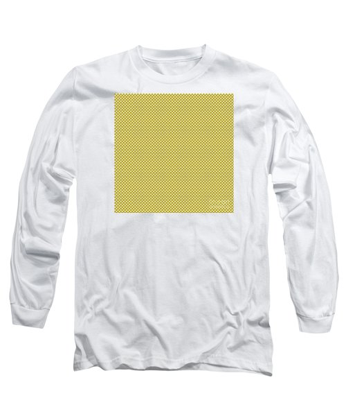 Yellow Weave Long Sleeve T-Shirt