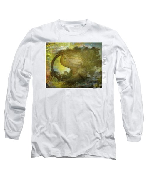 Ying And Yang Unbalanced Long Sleeve T-Shirt