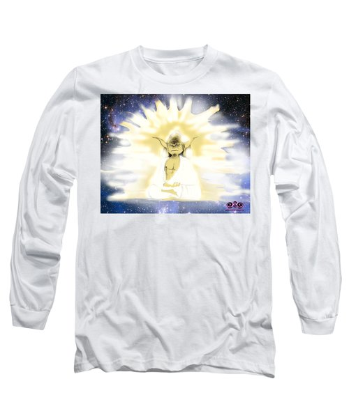 Yoda Budda Long Sleeve T-Shirt