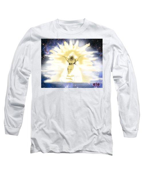 Yoda Budda Long Sleeve T-Shirt