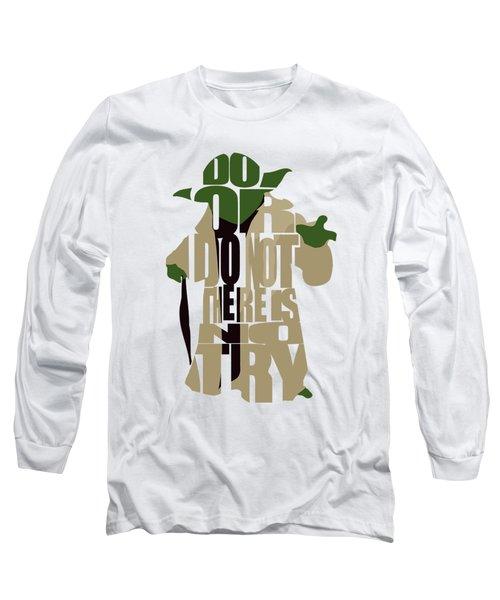 Yoda - Star Wars Long Sleeve T-Shirt