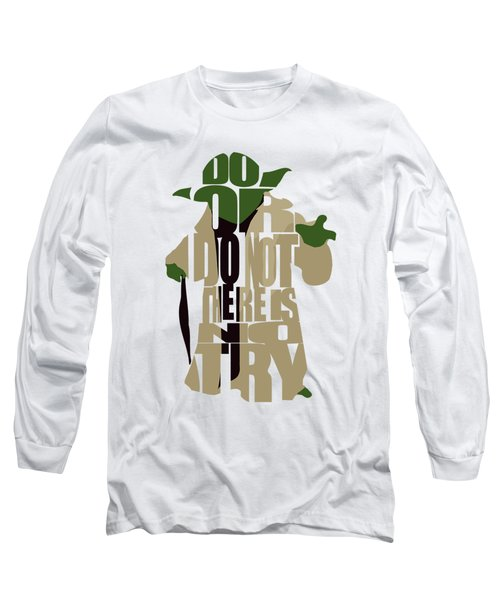 Yoda - Star Wars Long Sleeve T-Shirt