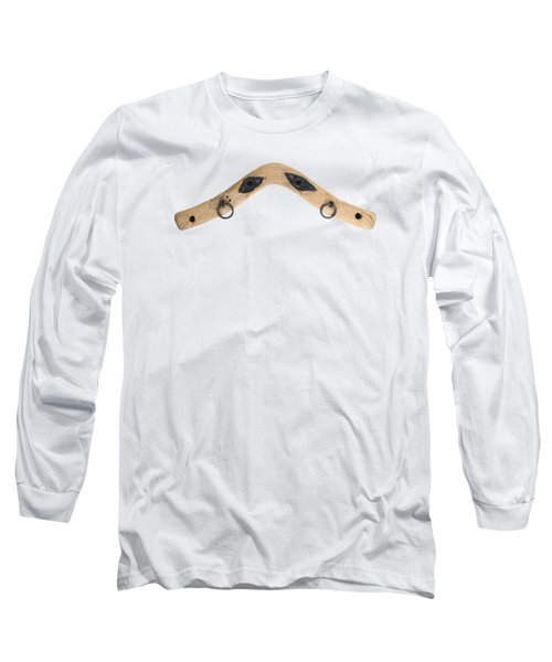 Long Sleeve T-Shirt featuring the photograph Yoke - Part Of Harnesses For The Draft Animals by Michal Boubin