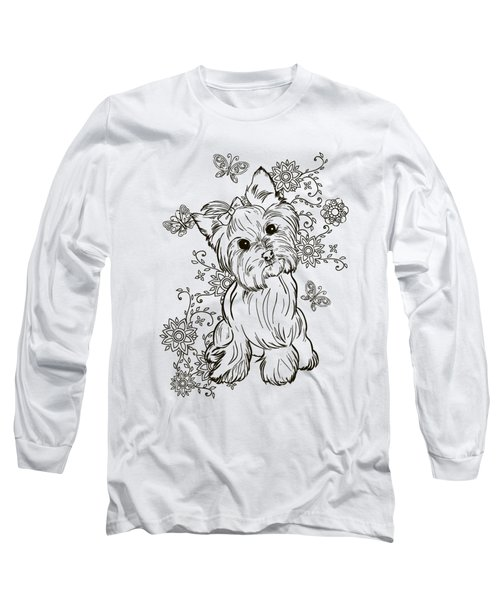 Yorkie Terrier Long Sleeve T-Shirt