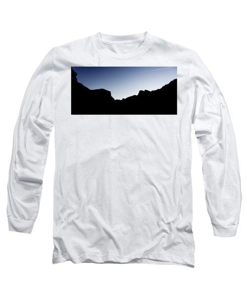 Yosemite In Silhouette Long Sleeve T-Shirt