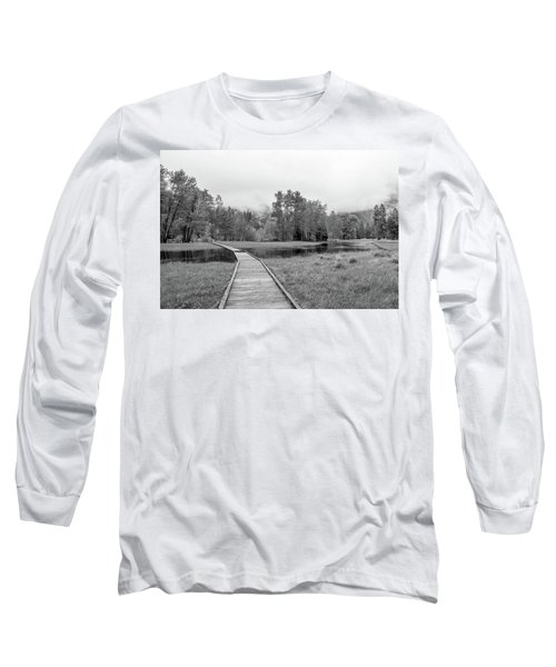 Yosemite Monochrome Long Sleeve T-Shirt