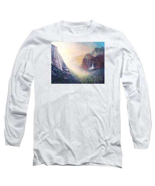 Yosemite Morning Long Sleeve T-Shirt by Douglas Castleman