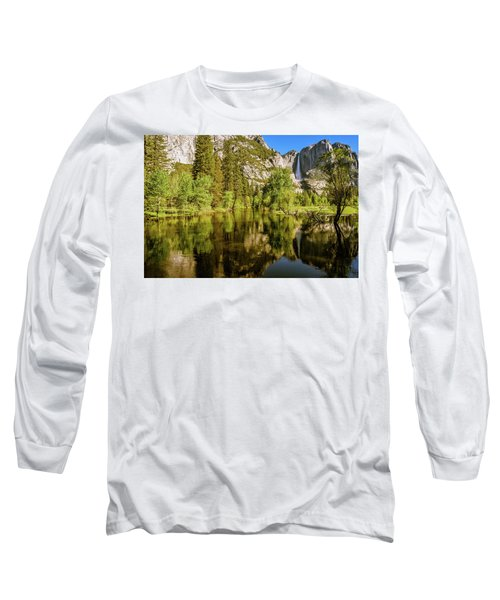 Yosemite Reflections On The Merced River Long Sleeve T-Shirt