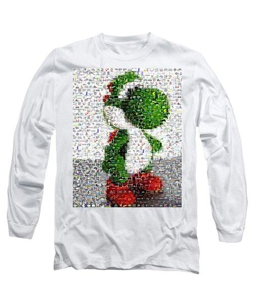 Yoshi Mosaic Long Sleeve T-Shirt