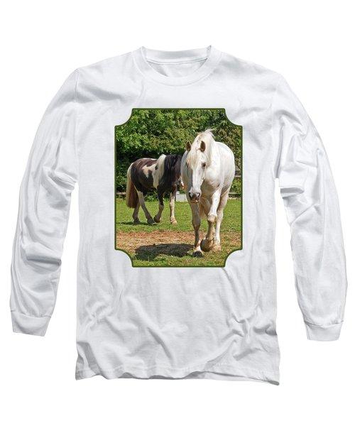 You Lead I'll Follow - Horse Friends Long Sleeve T-Shirt