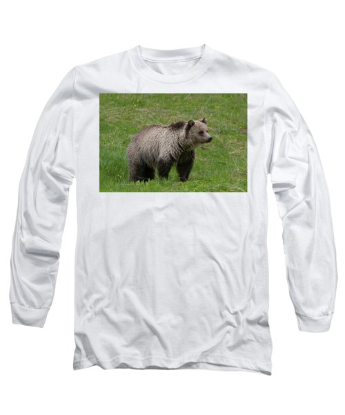 Young Grizzly Long Sleeve T-Shirt