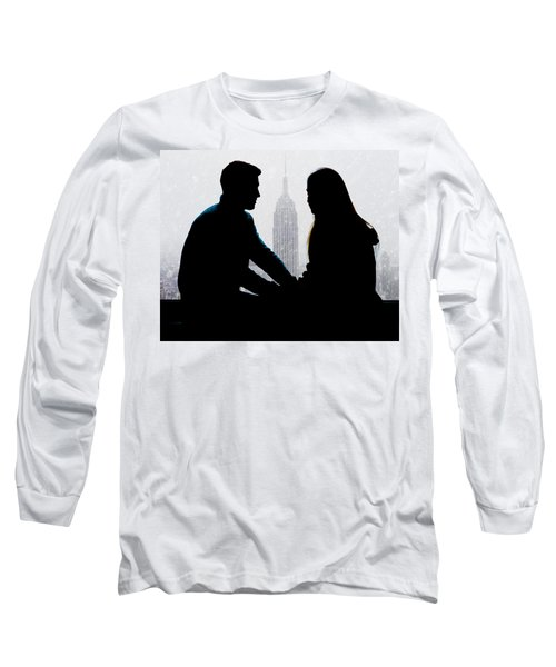 Long Sleeve T-Shirt featuring the photograph Young Love     by Chris Lord