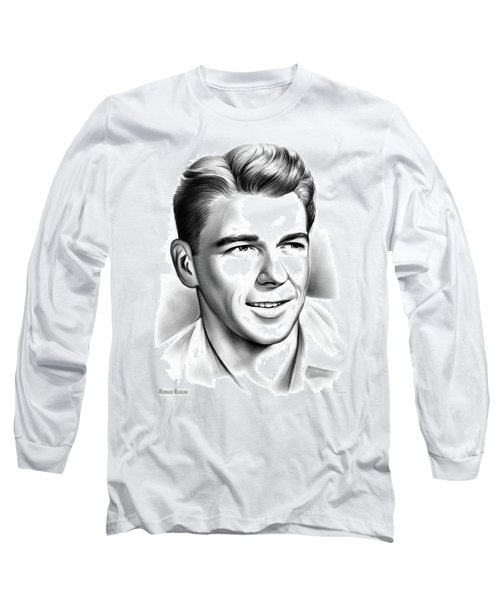 Young Reagan Long Sleeve T-Shirt