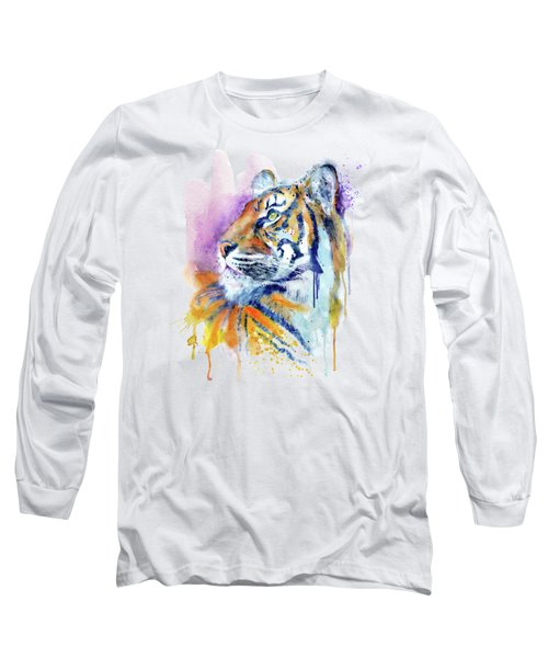 Young Tiger Portrait Long Sleeve T-Shirt