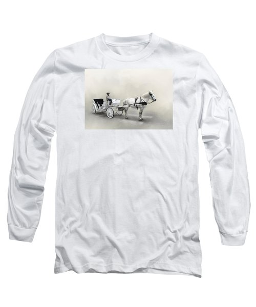 Your Carriage Awaits Long Sleeve T-Shirt by David and Carol Kelly