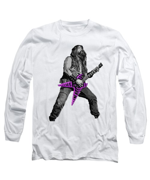 Zakk Guitarist Long Sleeve T-Shirt