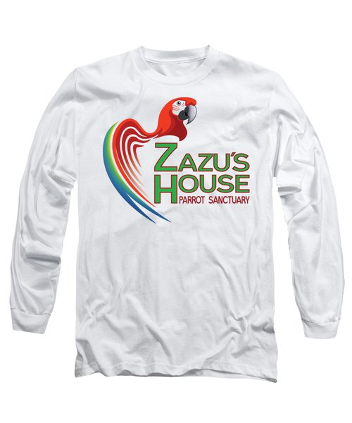 Zazu's House Parrot Sanctuary Long Sleeve T-Shirt by Zazu's House Parrot Sanctuary