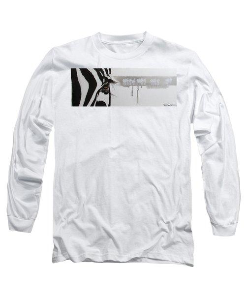 Zebra Tears Long Sleeve T-Shirt