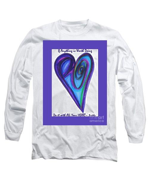 Zen Hearts Eclipse Eve Long Sleeve T-Shirt