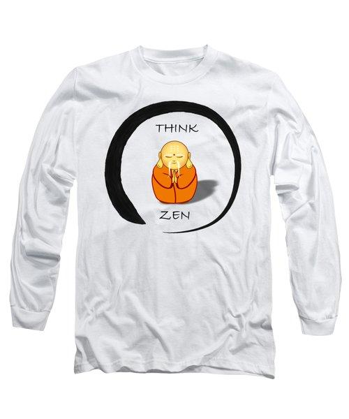 Zen Symbol With Buddha Long Sleeve T-Shirt