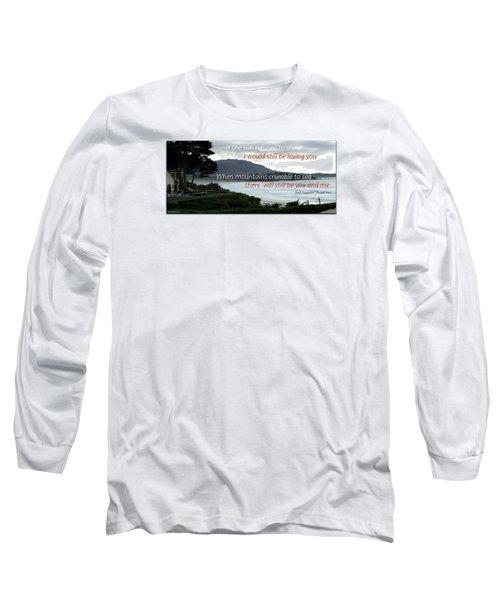 Long Sleeve T-Shirt featuring the photograph Zeppelin Gratitude by David Norman
