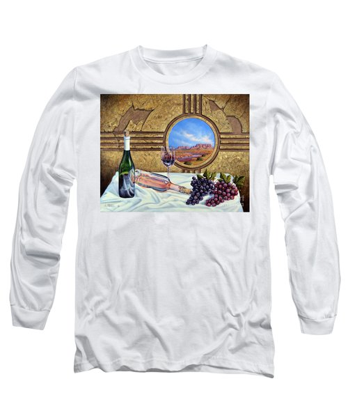 Zia Wine Long Sleeve T-Shirt