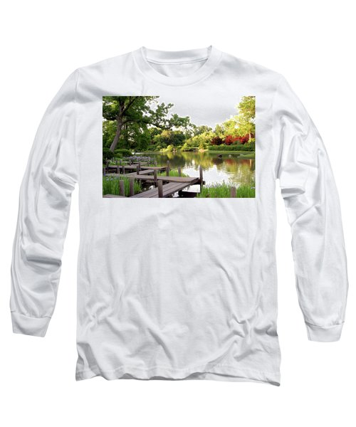 Zig Zag Bridge 2703 H_2 Long Sleeve T-Shirt