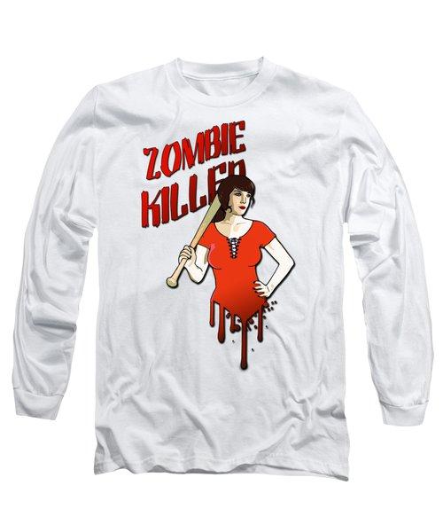Zombie Killer Long Sleeve T-Shirt