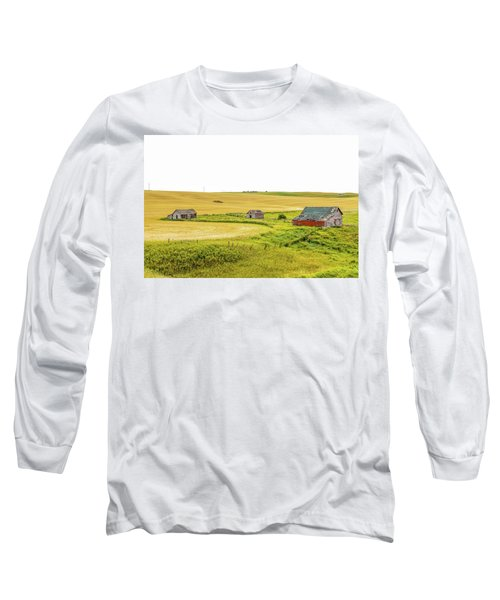 A Sign Of The Times, Run Diown Farm Out Buildings And Barns, Alb Long Sleeve T-Shirt