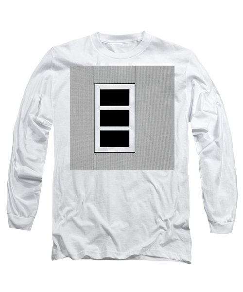 Black Tryptic Long Sleeve T-Shirt