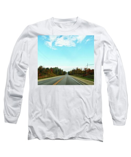 Collingwood In The Distance Long Sleeve T-Shirt