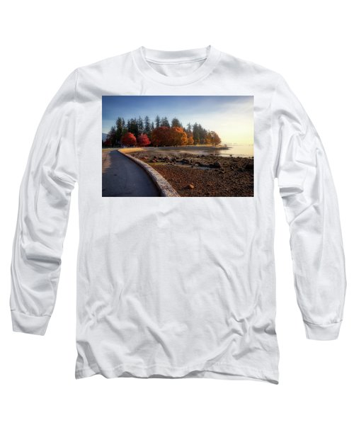 Colorful Autumn Foliage At Stanley Park Long Sleeve T-Shirt