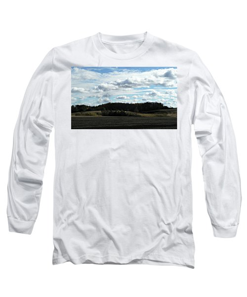 Country Autumn Curves 3 Long Sleeve T-Shirt
